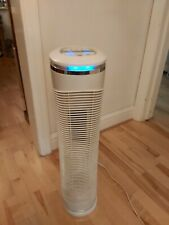 HoMedics True HEPA Tower Air Purifier AR-29-EU UV-Cleaning Light Kills Germs