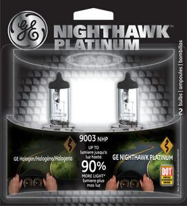 Headlight Bulb-Nighthawk Platinum Twin Blister Pack GE Lighting 9003NHP/BP2