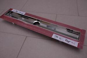"""TECEdrainline Duschrinne Fliesenmulde """"plate"""" Komplettset 120cm NEU/OVP 601200"""