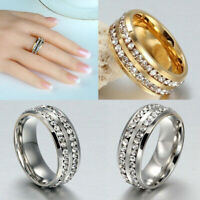 HEALTH CARE WEIGHT LOSS FAT BURNING SLIMMING RHINESTONE RING MAGNETIC Boom E0H9