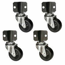 Side Mount Plate Swivel Casters - 2