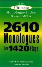 The Ultimate Monologue Index