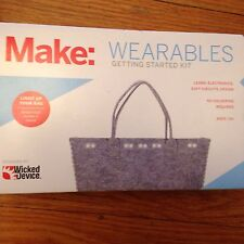 Make WEARABLES GETTING STARTED KIT Wicked Device Light Up Your Bag Purse STEM