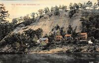 Martinsville Indiana~Blue Bluffs Homes & Cottages Along White River Front~1909