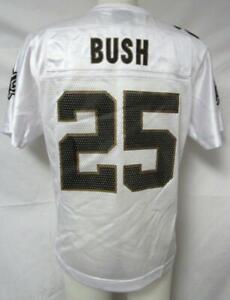 New Orleans Saints Womens Size M L or XL Reggie Bush #25 Jersey A1 1177