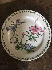 Decorative Floral Plate Deco