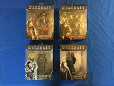 2016 World Of WARCRAFT Durotan, Lothar, Blackhand, Movie Action Figures 4 Lot