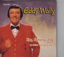 Eddy Wally-Zing Signorita Zing cd single