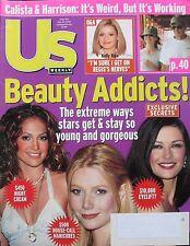 GWYNETH PALTROW  Beauty Addicts May 2002 Us Weekly Magazine