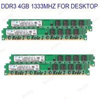 4GB 8GB 16GB 240 pin Dimm DDR3 desktop memory RAM CL9 PC3-10600 1333MHz RAM BT02