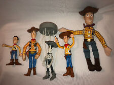 Toy Story Woody Doll Lot Of 5