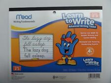 MEAD LEARN TO WRITE ADVANCED WRITING TABLET GRADES 2-3 10 x 8 40 SHEETS