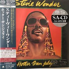 Hotter Than July by Stevie Wonder(SACD-SHM. jp. mini LP), 2011, UIGY-9075 Japan
