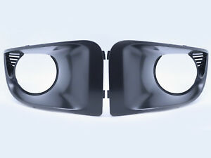 For 04-05 Subaru Impreza WRX STI GDB JDM FogLight Lamp Covers Bezel - Black Matt