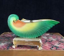 Paris Porcelain shell form inkstand, c.1820