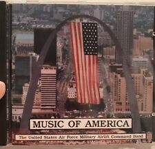 Music of America ~ The United States Air Force Military Airlift Command Band  CD