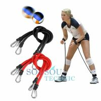 Pair Volleyball Training AID Pass Rite Trainer Passing Resistance Band Belt USA