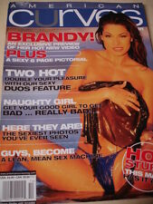 Sep/Oct 2003 American Curves #5 Brandy Dahl Sexy Lingerie cover + AMY FADHLI