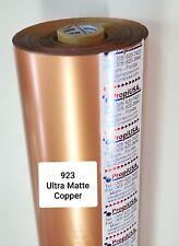Hot Stamping Foil  923 Ultra Matte Copper 24 In x 1000 Ft     PROPIUSA