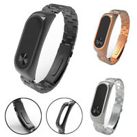 Stainless Steel Luxury Wristband Metal Ultrathin New Strap For Xiaomi Mi Band 2