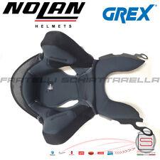 Grex ricambio interno compatibile Nolan N43 G4.2 Pro/g4.1/pro Nero/giallo Tg. M