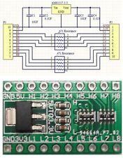 AMS1117 3,3V DC power 3.3 V step down + 8 channels 5V to 3.3V NRF24L01