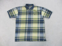 VINTAGE Nautica Polo Shirt Adult Extra Large Brown Blue Sailing Rugby Mens 90s