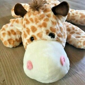 "Dan Dee Giraffe Plush 24"" Large Jumbo Shaggy Pillow Stuffed Animal"