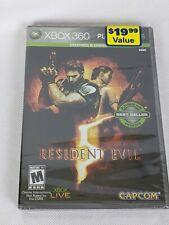 Resident Evil 5 (Microsoft Xbox 360, 2009) Platinum Hits
