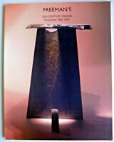 Freeman's 20th Century  Design Auction Catalog November 18, 2001