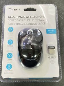 NEW Targus Blue Trace Wireless Mouse AMW620