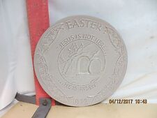 FRANKOMA EASTER PLATE - ORAL ROBERTS ASSOCIATION , 1972 ISSUE - NO DAMAGE!