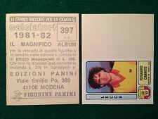 CALCIATORI 1981-82 81-1982 n 397 LECCE CANNITO , Figurina Panini