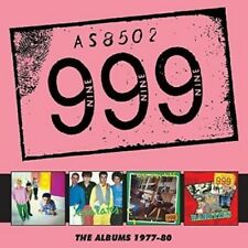 999 - THE ALBUMS:1977-80  4 CD NEUF