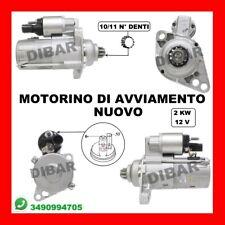 MOTORINO DI AVVIAMENTO NUOVO VW TOURAN 1.9 TDI DA 03 KW77 CV105 BKC BLS BXE 159