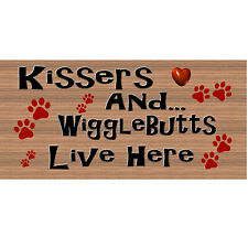 Wood Signs - Dog Plaque Gs1960 - Dog Signs-GiggleSticks