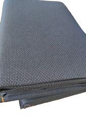 "59"" X 1 Yard 14 count Navy blue Cotton Aida Cloth Cross Stitch Fabric"