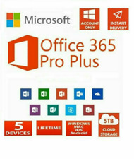 MICROSOFT®OFFICE 365 Pro Plus 2019 🔥 5 Devices 5 TB Onedrive🔥30 SEC DELIVERY