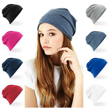 Jersey Beanie Hat Festival Gym Cancer Chemo Alopecia Hair Loss Stretch Cotton