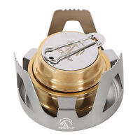 REDCAMP Mini Alcohol Burner Stove Portable for Camping Backpacking Hiking Cook