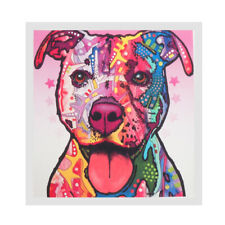 1 Panel Modern Abstract Painting Oil Print Painting on Canvas Poster Dog 02