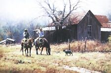 Brush Country Cowboys - Martin Grelle Signed Limited Edition Western Print 30x20
