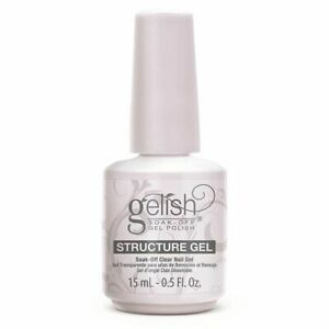 Gelish Structure Gel Soak Off Clear Gel 15ml perfect nails free shipping
