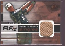 JEFF BREHAUT 2003 SP GAME USED PGA GOLF SHIRT JERSEY PATCH SP $8