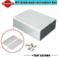 Electronic Aluminum PCB Instrument Enclosure Case Project Box DIY 110*88*38mm