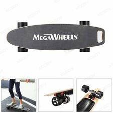 Megawheels Electric Skateboard Dual Motor Maple Deck Longboard 4 Wheels 2000mAh
