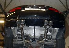 """BMW M3 E92/E93  Rear silencer delete pipes - Twin 3.5"""" tail pipes - Style A"""