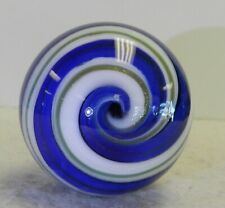 #10867m Handmade Comporary Swirl Marble With Lutz 1.55 Inches *Mint*