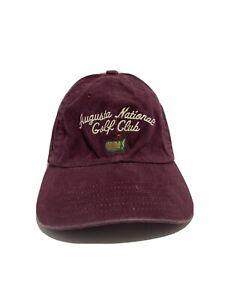 Augusta National Golf Club Masters men's adjustable baseball cap Masters Hat