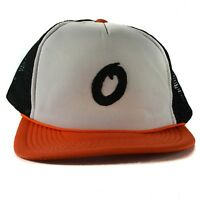 Vintage Baltimore Maryland Orioles Baseball Hat Cap Trucker Mesh Snapback White